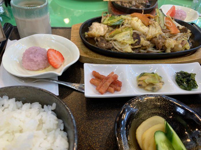 穂高カントリー_lunch