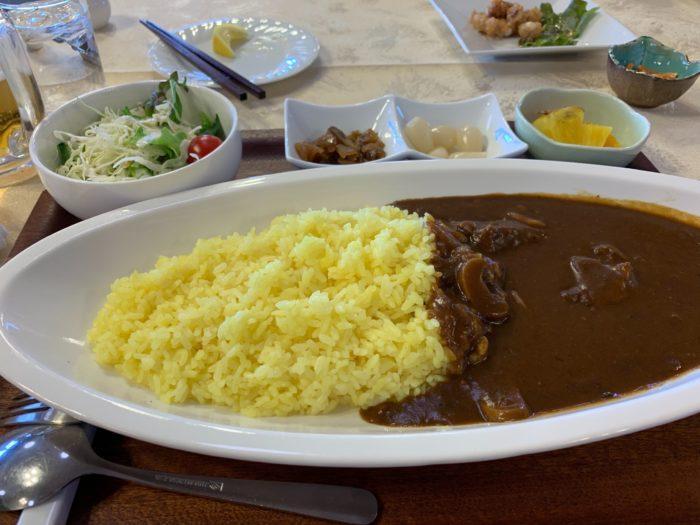 塩嶺カントリー_lunch